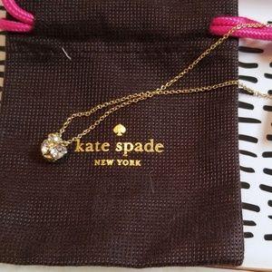 NWT disco ball necklace
